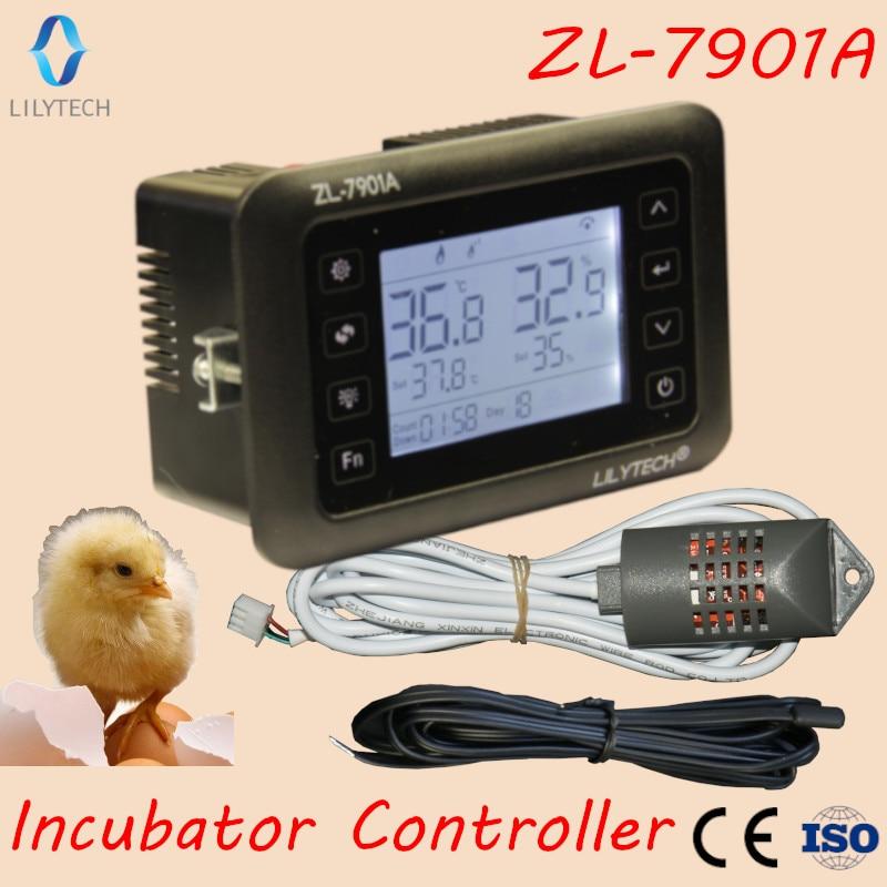 ZL 7901A 100 240Vac PID Multifunctional Automatic Incubator Incubator Controller Temperature Humidity Incubator Lilytech