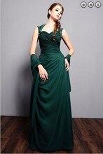 custom-made vestido de festa renda longo 2016 new fashion sexy green party Formal evening elegant Dress free shipping