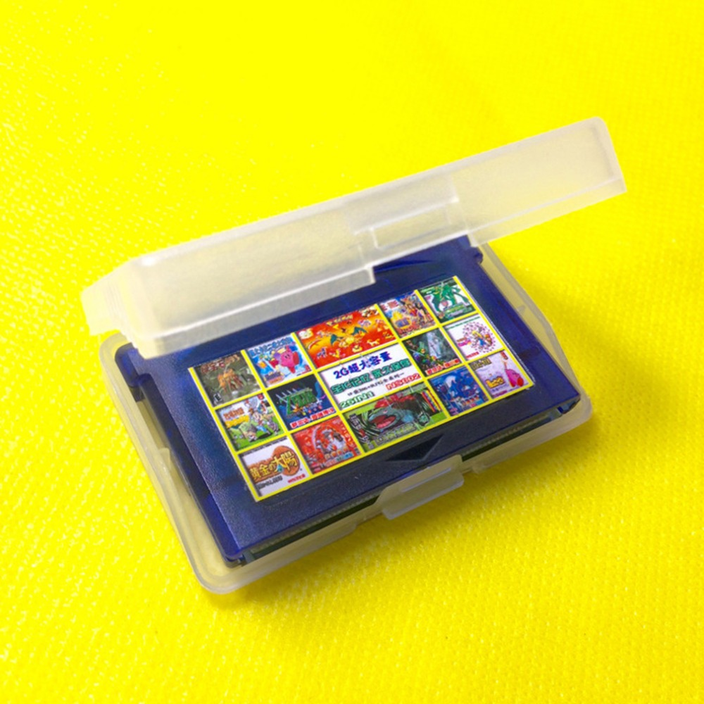 Game boy color online free - Clear Plastic Game Cartridge Cases Storage Box Protector Holder Dust Cover Replacement Shell For Nintendo Game Boy Gameboy Gba