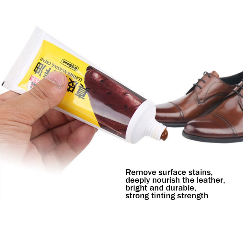Kulit Nourishing Cream Domba Oil Untuk Kulit Sepatu Sepatu Bahasa