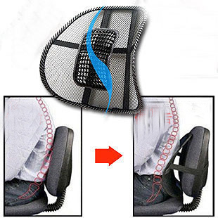 Back seat cushion Car lumbar support office cushi...