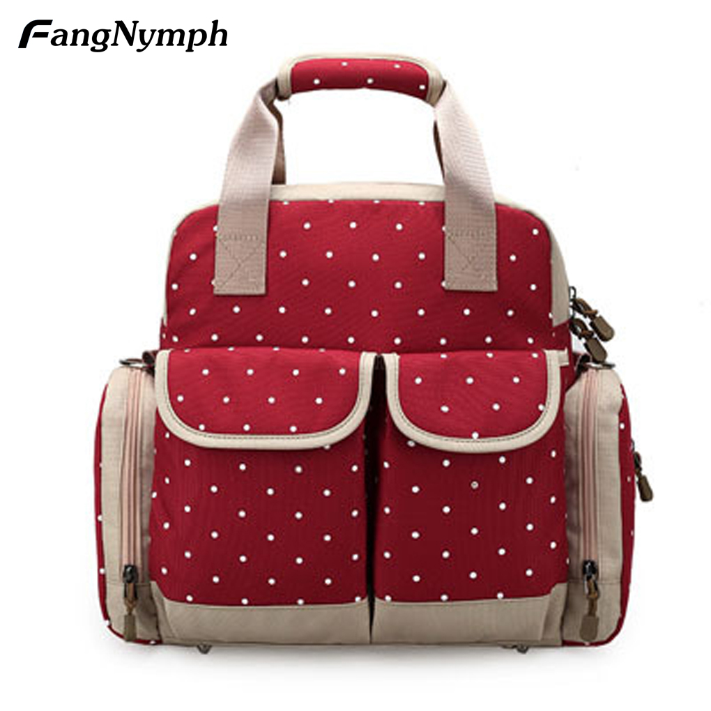 Multifunctional Large Capacity Maternity Backpack For Travel Mother Baby Diaper Bags