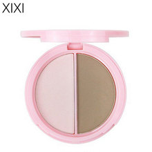 xixi 2 colors bronzers highlighters powder palette Contouring make up highlighter glow kit bronzer and highlighter for face