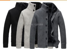 Free shipping Man Spring long sleeved sweater Men Fashion warm thick knitting jacket Mens Famous Brand cardigan Sweaters