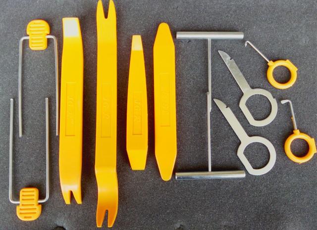 STARPAD 12 ferramentas de remoção de som automotivo interior demolição ferramenta de conversão para a ferramenta de remoção do painel de controle de áudio