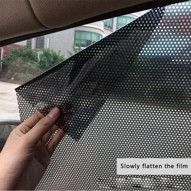 Car Curtain Windshield Sticker Sun shade UV Protection Sunshade Shield Cover Side Window Film Auto Stying 43x 32cm 2Pcs Per Set
