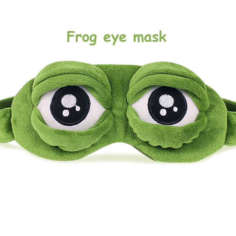 1dc9f19112b Children s Elastic belt frog Eye Mask Cover Sleeping Funny Rest Sleep Anime  Cosplay journey Accessories Kids gift Free Shipping-in Movies   TV from  Toys ...