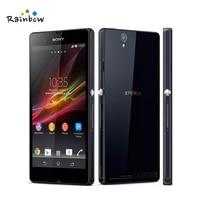 100% Original Sony Xperia Z L36h C6602 C6603 3G&4G Mobile phone 5.0 TouchScreen Quad Core 2G RAM 16GB ROM with 13.1MP Camera
