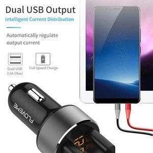 Image 3 - FLOVEME 5V 3.6A Car Charger Dual USB Fast Chargerบุหรี่ไฟแช็กรถสำหรับiPhone Xiaomi Samsungโทรศัพท์มือถือเครื่องชาร์จ