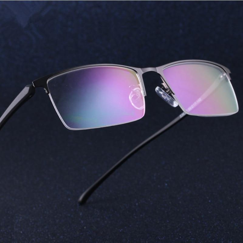 Business glasses Men fashion glasses myopia Full frame can be equipped myopia lens prescription Big box glasses 637