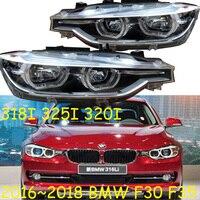 Video 2pcs,F30 F35 headlight,LED,318I 325I 320I,2016~2018year,f35 fog light,car accessories,318i taillight,325i headlight