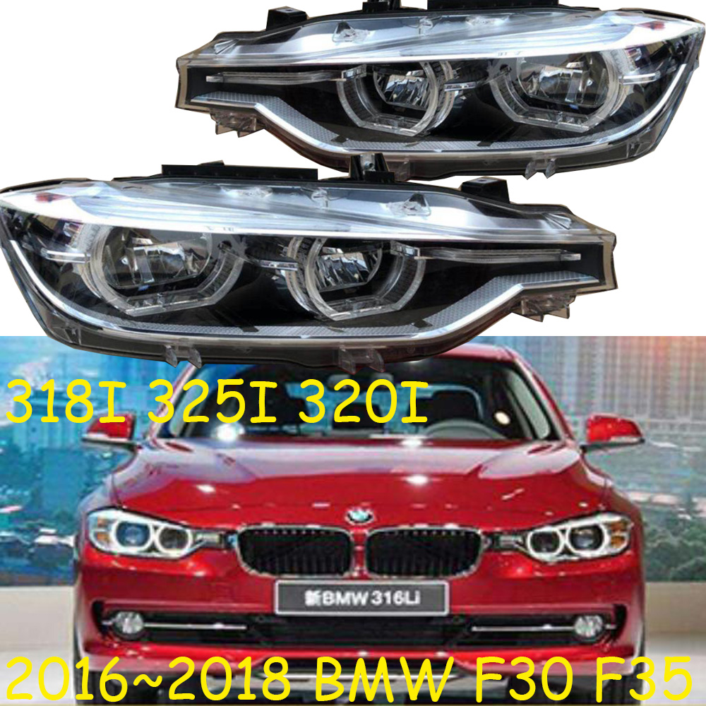 Video 2pcs,<font><b>F30</b></font> F35 <font><b>headlight</b></font>,<font><b>LED</b></font>,318I 325I 320I,2016~2018year,f35 fog light,car accessories,318i taillight,325i <font><b>headlight</b></font> image
