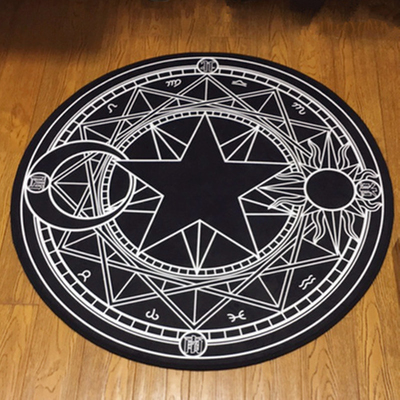 Hot Sale Round Carpet Kids Room Carpets for Living Room Non-slip Bedroom Bathroom Toilet Carpet Rug Home Decor Tapete Alfombra