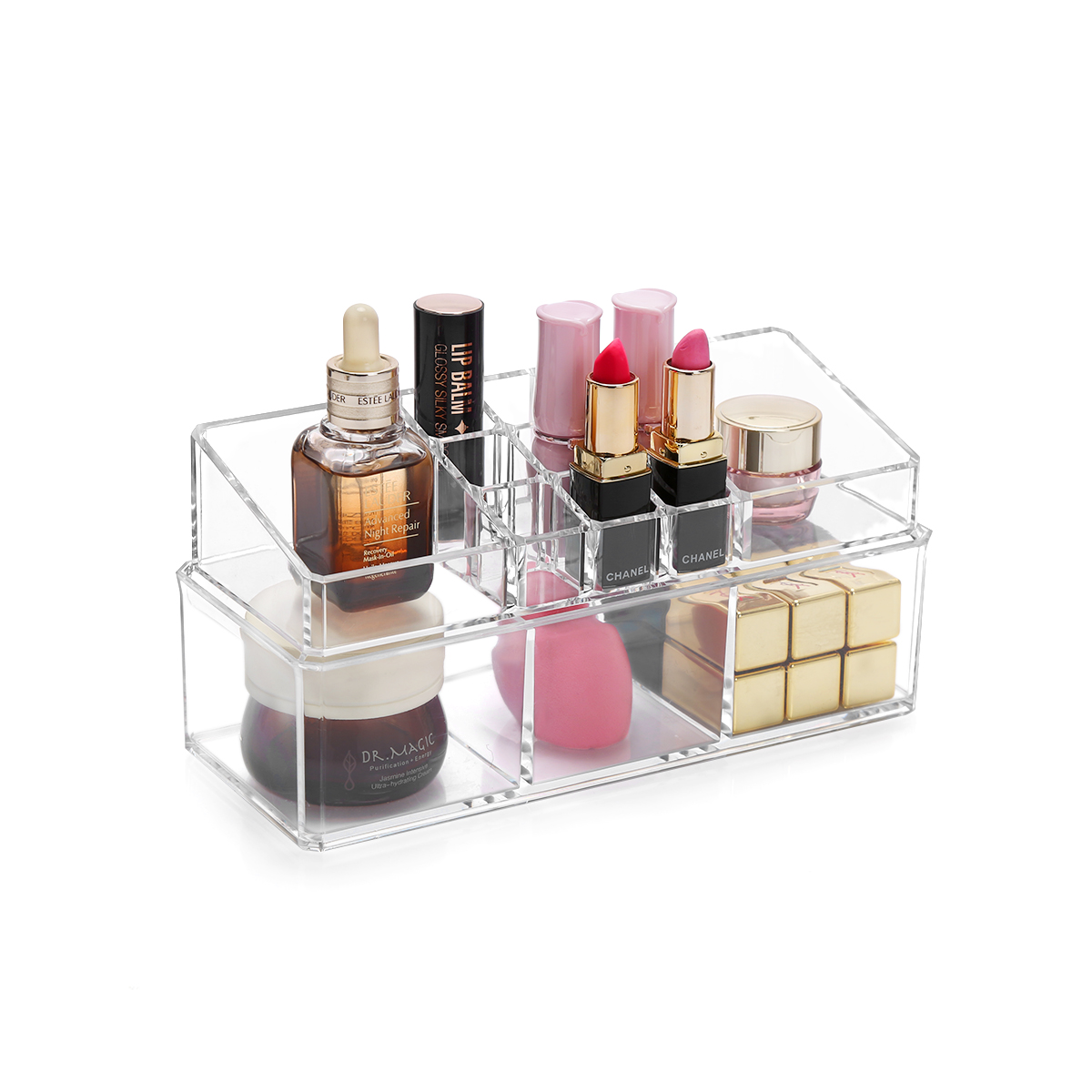 Transparent Lipstick Storage Box Cosmetic Makeup Organizer Acylic Lipstick  Holder Display Stand Home Storage Container C140 In Storage Boxes U0026 Bins  From ...