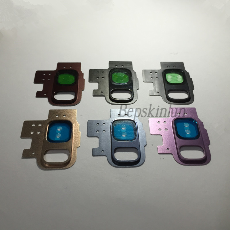Bepskinlun Original Back Rear Glass Camera <font><b>Lens</b></font> + Metal Ring Replacement Part for <font><b>Samsung</b></font> <font><b>Galaxy</b></font> <font><b>S9</b></font> image