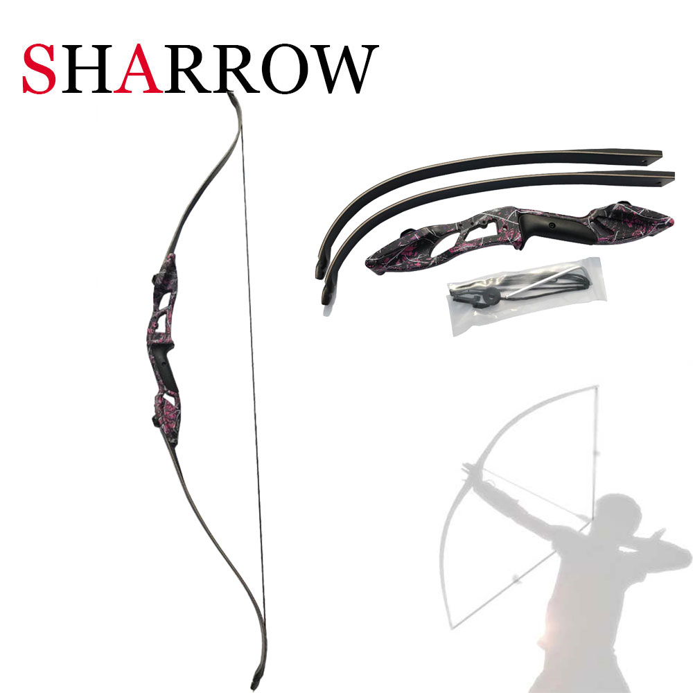 30-50lbs Recurve Bow Archery Takedown Right hand Archery Hunting Bow arco e flecha flechas tiro de arco Estilingue Chasse 3 color 30 50lbs recurve bow 56 american hunting bow archery with 17 inches metal riser tranditional long bow hunting