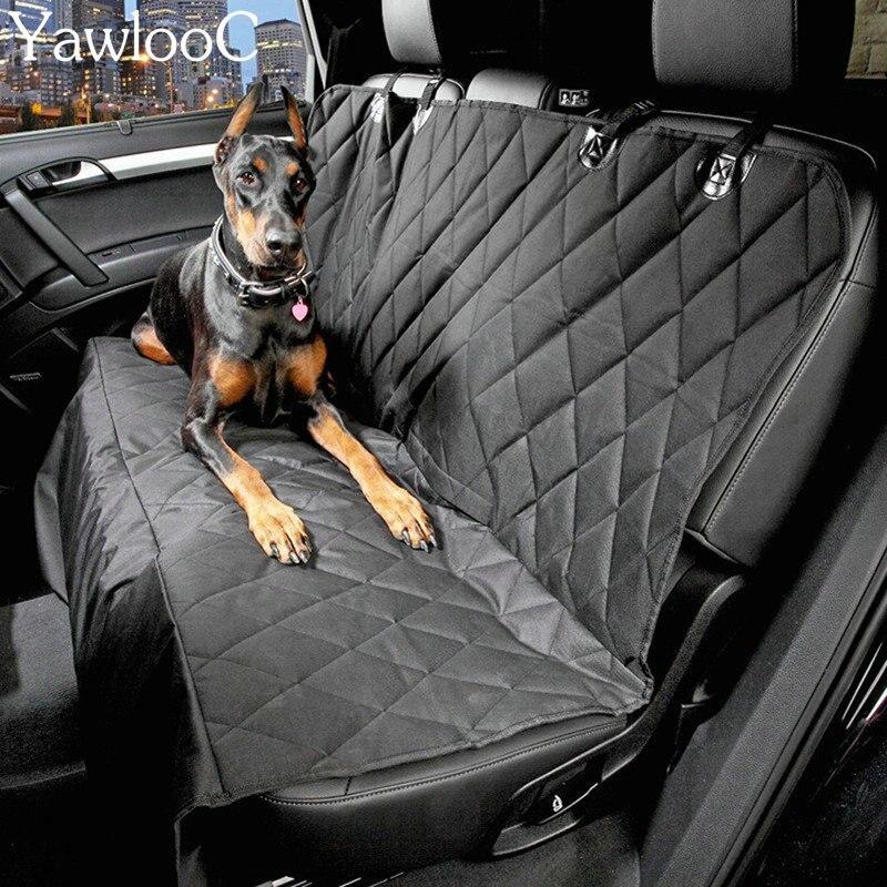 font b Car b font Pet Seat Covers Waterproof Back Bench Seat 600D Oxford font