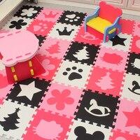 Marjinaa bé EVA Foam Chơi Puzzle Mat/20 hoặc 30/lô Lồng Vào Nhau Tập Thể Dục Gạch Lát Sàn Sàn Thảm Thảm cho bé, 1 cm Dày