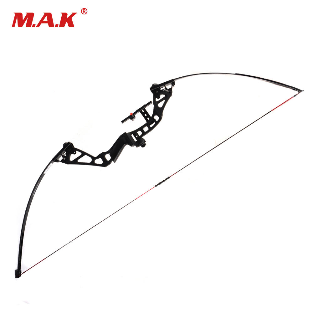 30-50 Pounds Adjustable Straight Pull American Bow Length 60 Inches for Archery Hunting Shooting цена