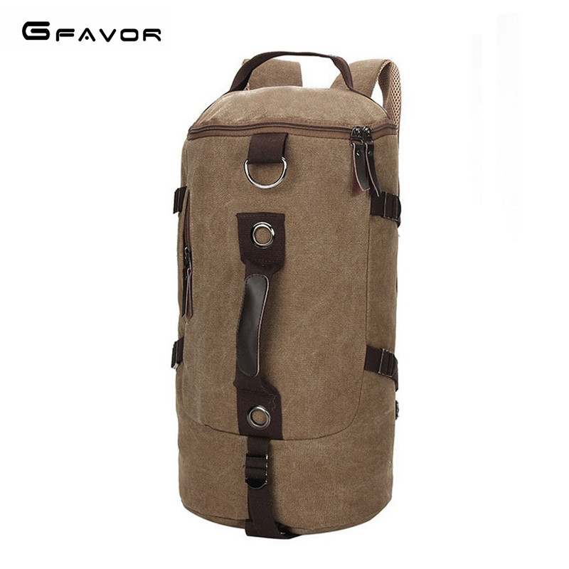 G-FAVOR Men Travel Bags Large Capacity Multifunctional Shoulder Bag Fashion Men Backpacks Mens Multi-purpose Travel Backpack