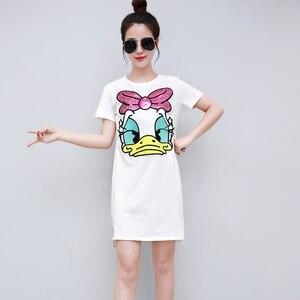 Preppy Style Cotton Dresses Wo