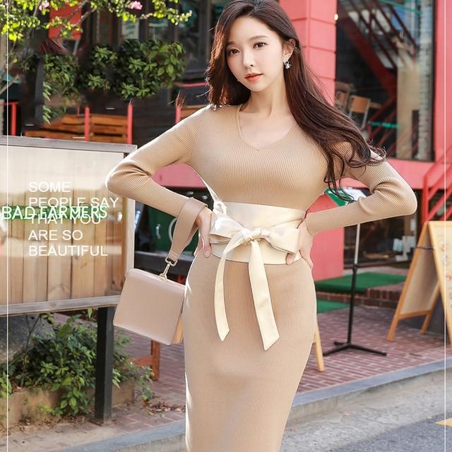 Dabuwawa Elegant Bow Satin Belts Cummerbunds for Women Girls High Quality Soft Fashion Waistband #D17DBE002