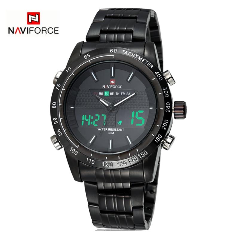 NAVIFORCE herenhorloges topmerk luxe casual quartz horloge mannen - Herenhorloges - Foto 3