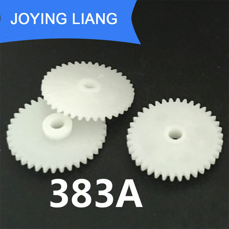 383A 0.5M 20MM Gear Modulus 0.5 38 Tooth Plastic Gear Disc Toy Accessories 10pcs/lot