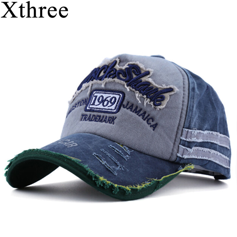 Xthree hot retro baseball cap fitted cap snapback hat for men gorras casual casquette Letter embroidery xthree fashion snapback hat baseball cap cotton casquette bone gorras hat for men women cap hat letter cap