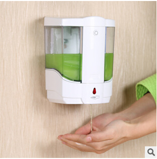 800ml Automatic Sensor Liquid Soap Dispenser Base Wall Mounted ABS Touch-free Sanitizer foam Soap Dispenser 500ml wall mounted automatic hand sanitizer holder abs automatic sensor soap dispenser liquid shampoo gel dispenser