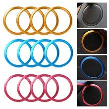4pcs/pack Car Speaker Frame Sticker For BMW 3 Series F30 F34 320 328 Auto Speaker Interior Cover Rings Car Styling for 1991 1999 bmw 3 series e36 6x9 rear speaker adaptors kit rings spacers high quality car speaker adapter