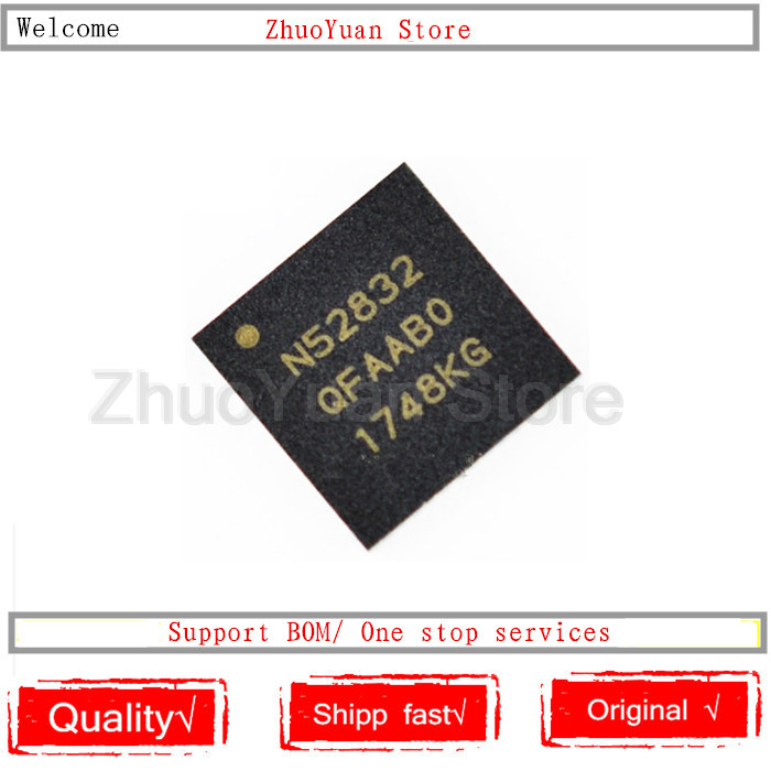1PCS/lot NRF52832-QFAA NRF52832 NRF52832QFAA NRF52832-QFAA-R N52832 QFN48 New IC Chip