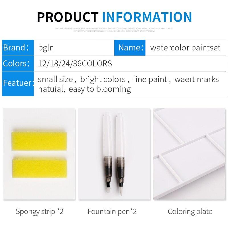 Pigmento para a Winsor & Newton 12/18/24 Cores