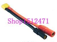 1pce XT60 AS150 Fêmea Adaptador Macho para XT150 10AWG Fio para DJI S1000 S900 Conectores Renovação da Casa -