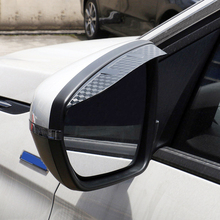 For Peugeot 3008 2016-2018  / 5008 GT  2017 2018 Exterior ABS Rear View Decorative Sticker Car Accessories 2pcs Car Styling