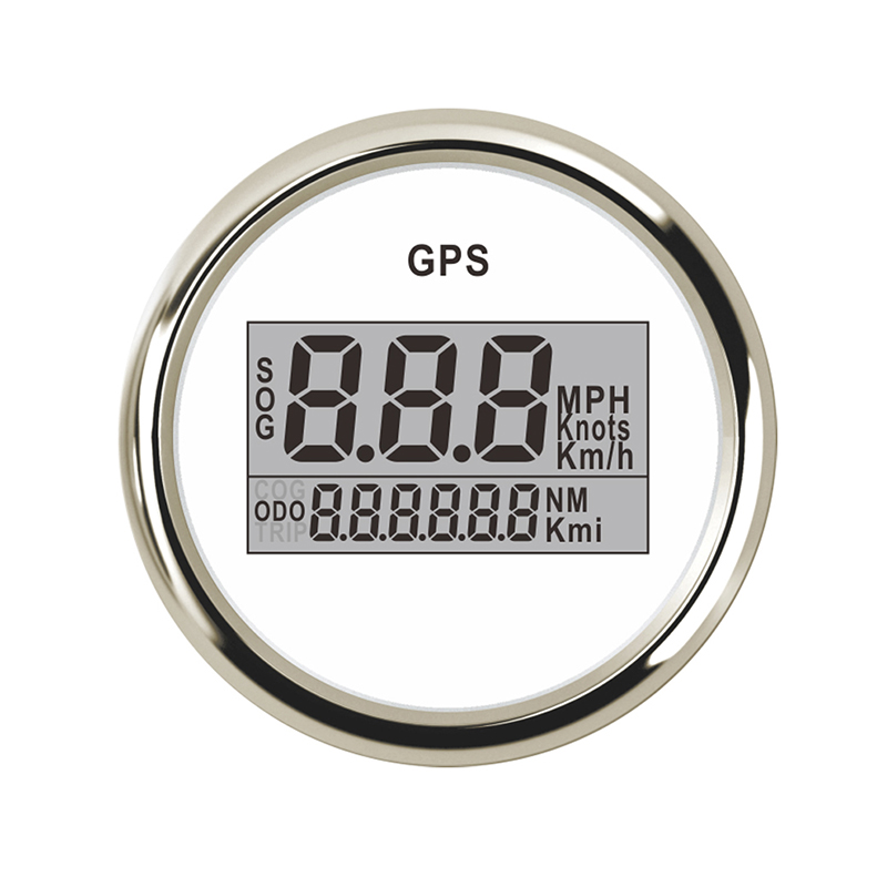 52mm SOG ODG Motorcycle GPS Speedometer Digital Boat Odometer fit for honda civic golf 4 Car