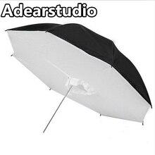 Stüdyo Yansıtıcı Fotoğraf Şemsiye Softbox Lamba Şemsiye 110 cm Portre Stüdyo Ekipmanları Adearstudio CD50