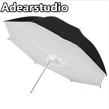 Studio Reflective Photo Umbrella Softbox Lamp Umbrella 110cm Portrait Studio Equipment Adearstudio CD50