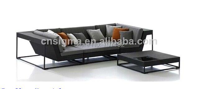 2017 Heißer Verkauf Neue Design Rattan Gartenmöbel Sofa Set In 2017