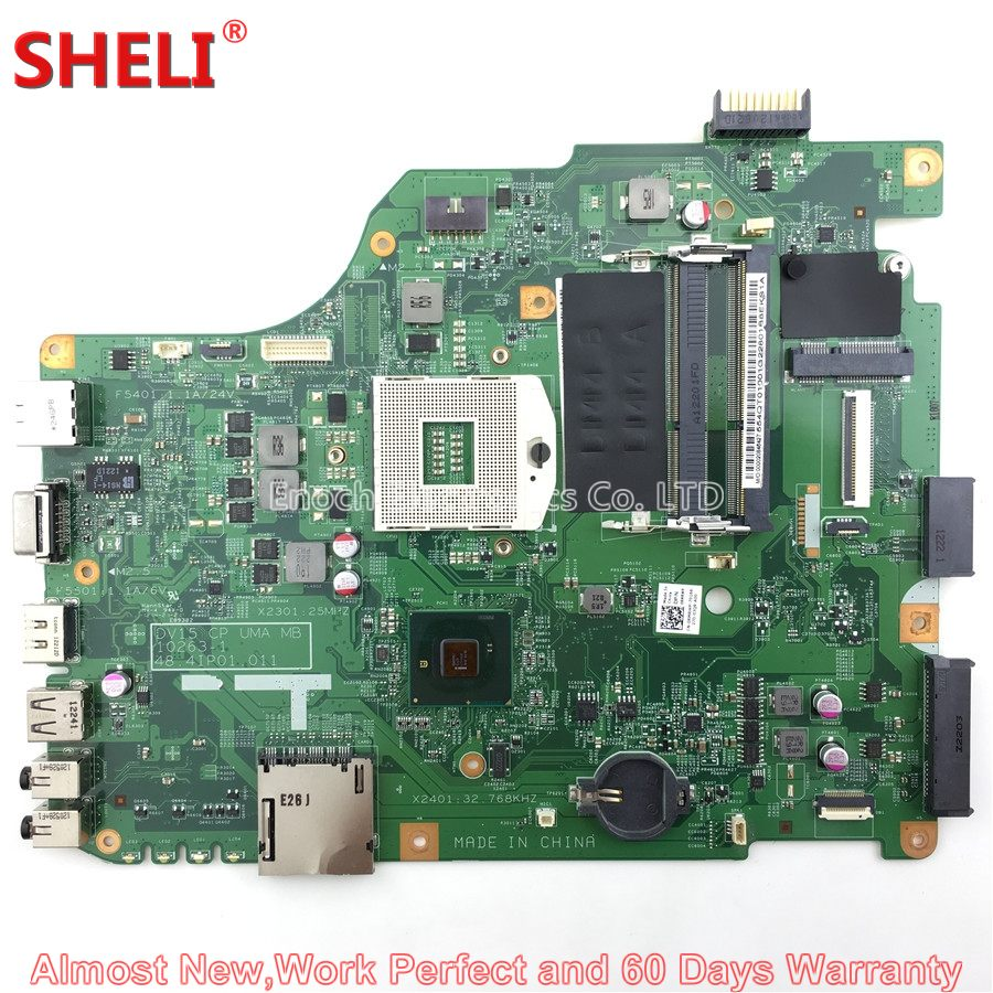SHELI RMRWP 0RMRWP CN-0RMRWP Laptop Motherboard For Dell Vostro 1540 V1540 Series 48.4IP01.011 System Board Main Board Work Good