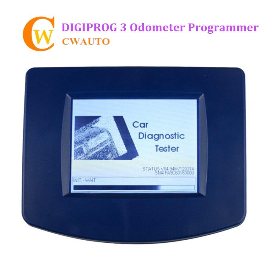 Outil de réglage du kilométrage Digiprog 3 V4.94 programmeur odomètre complet Digiprog III