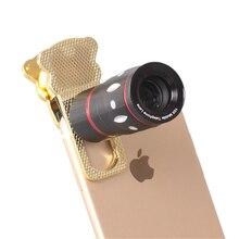 Profession 10X Telescope Lenses Manual Focus Telephoto zoom Mobile Phone Metal Lens Camera For iPhone 6 7 8 Samsung S9 Plus Len