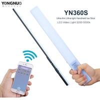 YONGNUO YN360S Handheld LED Video Light 3200k to 5500k Ice Stick Professional Photo LED Light yn 360S wand