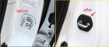 Yimaautotrims Inner Door Lock Protector + Stop Rust Waterproof Cover Buckle Kit For Nissan Qashqai J11 Rogue X-trail 2014 - 2018