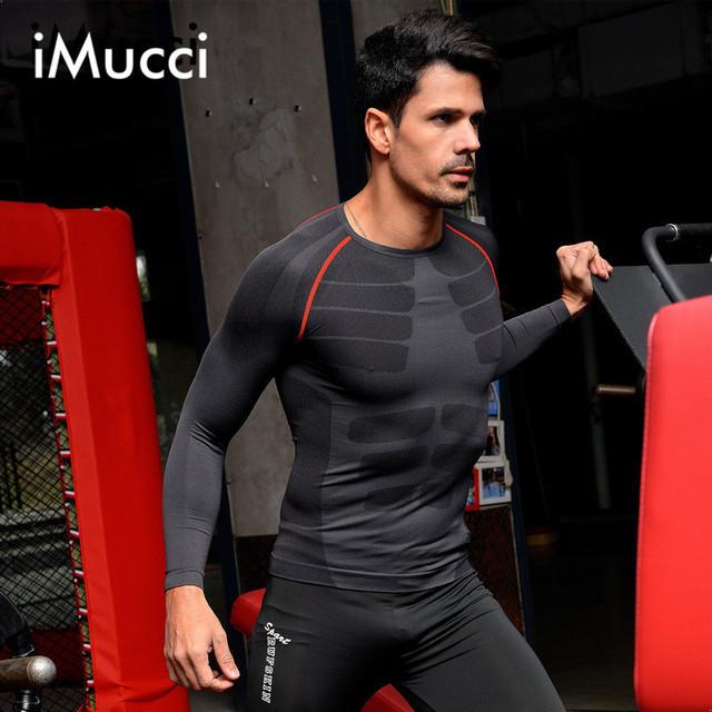 Fibra Febre Longo-Sleeved dos homens Camisa Roupa Interior Térmica Shapewear Queima de Gordura Da Cintura E Costas Formadores Homens Magros Quentes Top Shaper do corpo