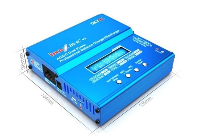 100% Original SKYRC iMAX B6AC V2 Digital Li-po NiMH Battery Balance Charger AC input: 100-240Volt DC input: 11-18Volt