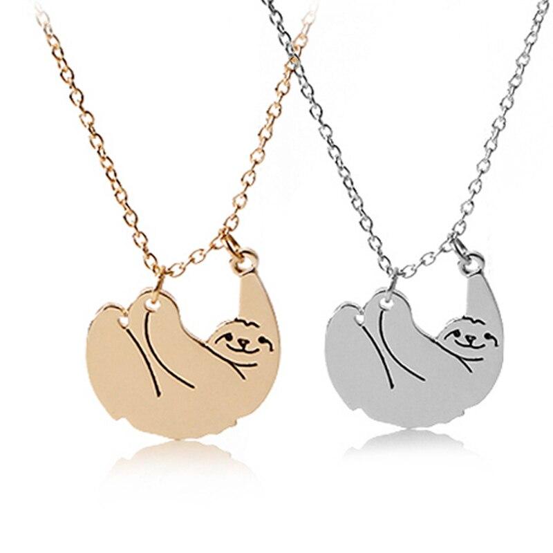Zootopia sloth necklaces animal  jewelry gift for Animal protector Crazy Animal City  Ожерелье