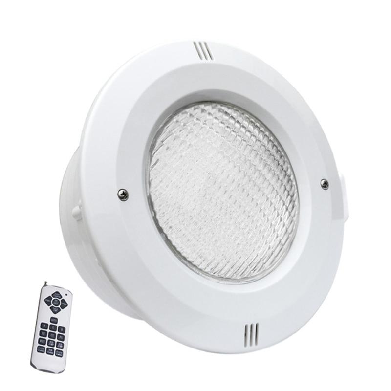 LED-uri lumini subacvatice RGB PAR56 AC12V 36W diametru 30cm înălțime 15cm mare Piscină Lumină liberă de transport de la distanță de control