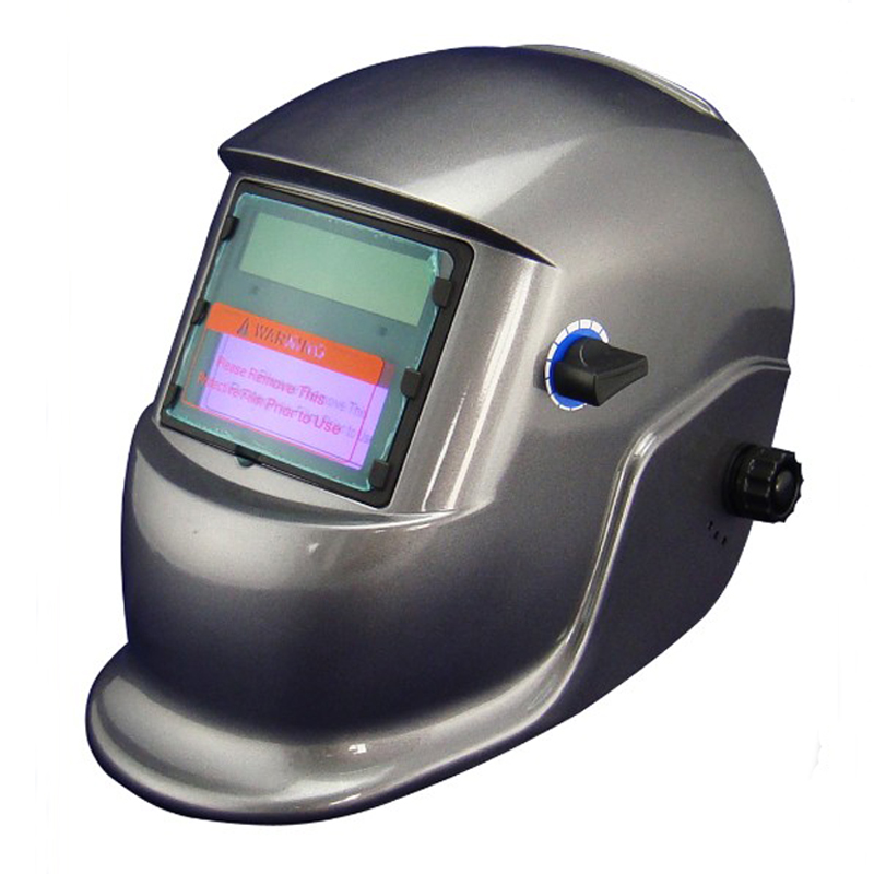 Cheap Li Battery+Solar auto darkening welding helmet/face mask for the MIG MAG CT TSC KR welding machine and LGK plasma cutter solar auto darkening welding mask helmet welder cap welding lens eye mask filter lens for welding machine and plasma cuting tool
