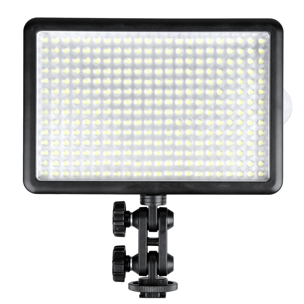 Godox LED 308Y 308 LEDs Professional LED Video (3300K) Light with Remote Control for Canon Nikon Camera DV Camcorder new godox 308c bi color dimmable 5500k 3300k led video led video studio light lamp professional video light with remote control